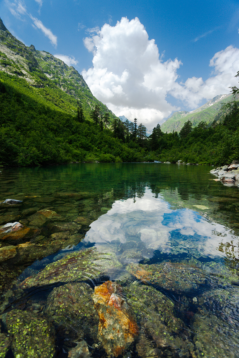 First Badukskoe Lake
