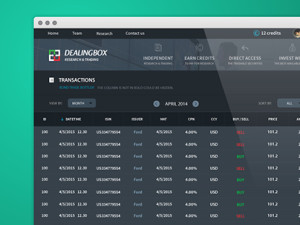 DealingBox - Research & Trading