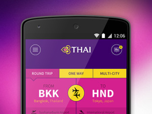 Thai Airways - Concept design