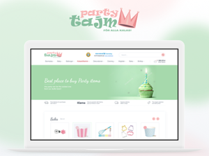 Party Tajm - eCommerce