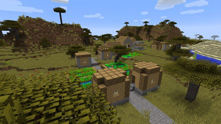 Minecraft world seeds