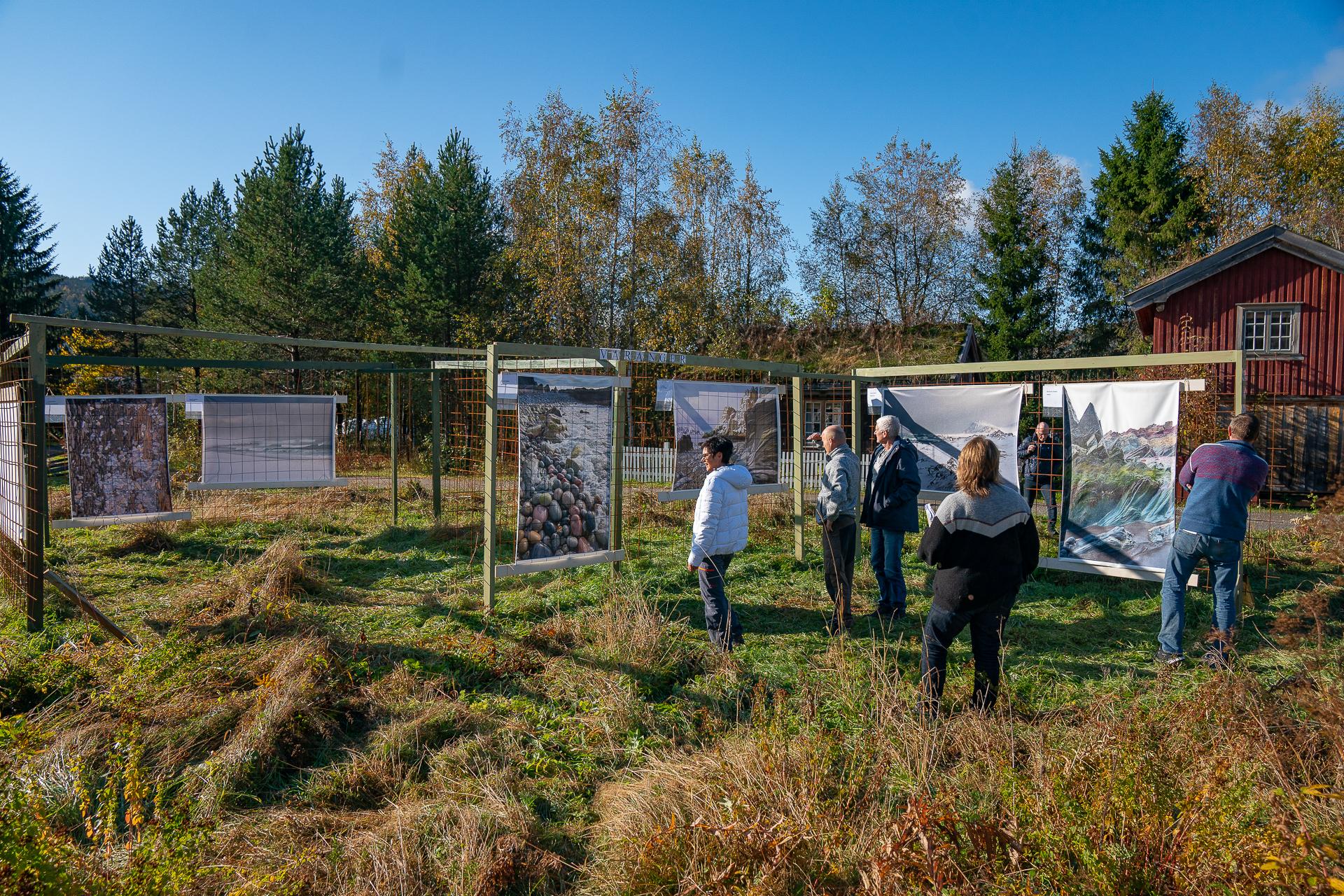 Outdoor exhibition in Trollheimen