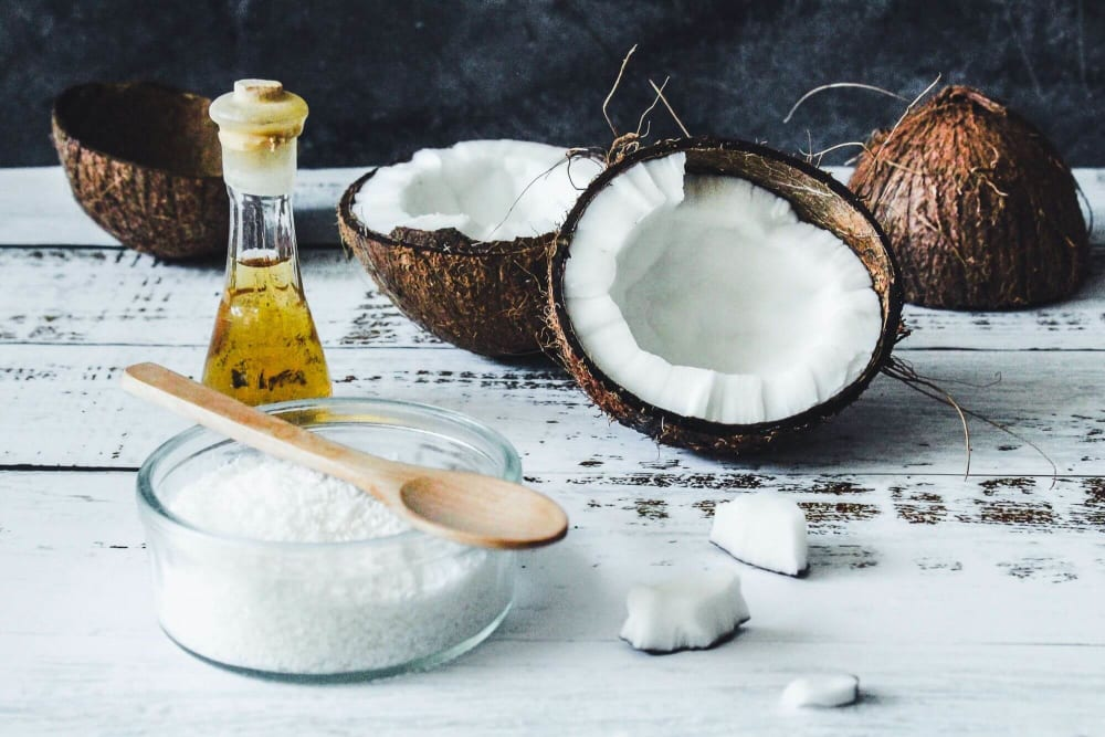 Camphor and Coconut Oil for Dandruff