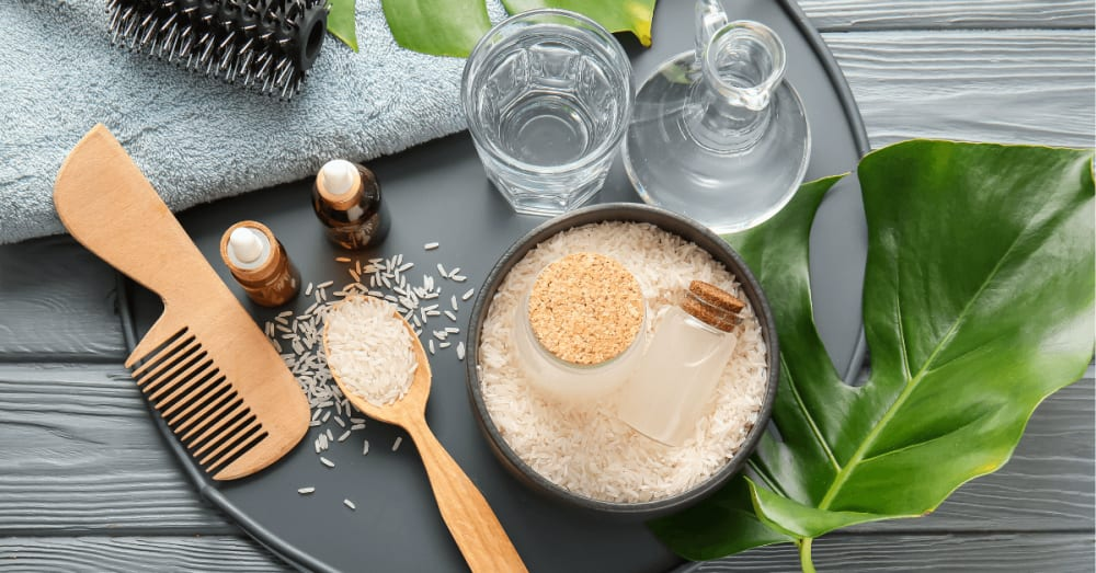 Rice Water for Hair Growth: Benefits, Uses | 2x Hair Growth