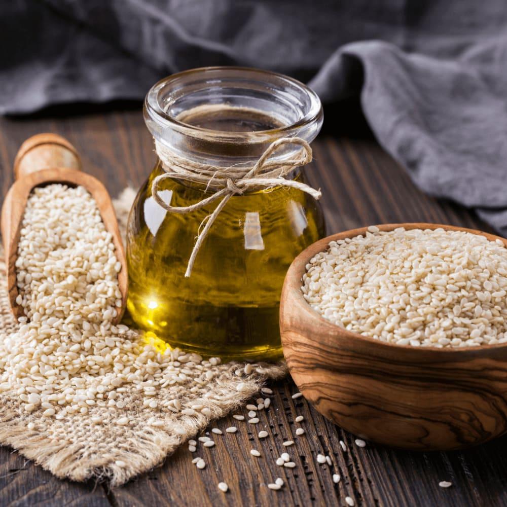 Sesame Oil For Hair- Til Oil Benefits, Uses & More