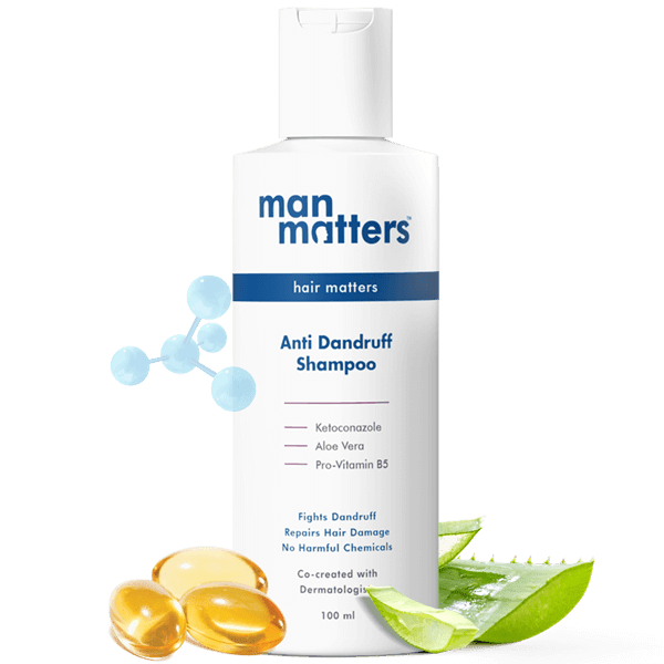 Ketoconazole Shampoo For Dandruff & Itchy Scalp