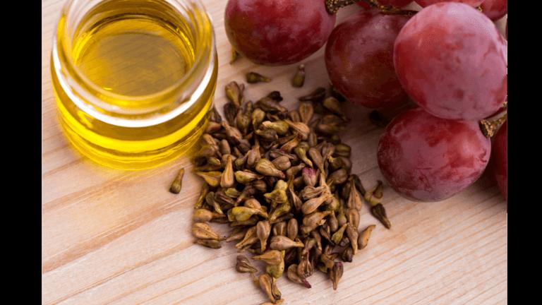 Grape seed oil for hair