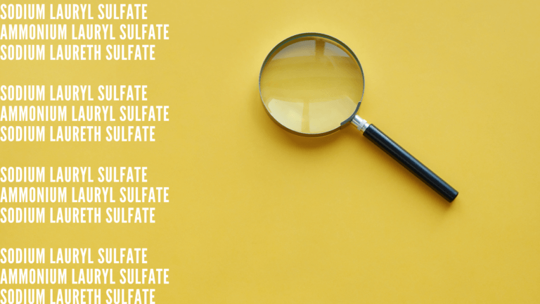 How to identify sulfates?