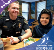 Bigs in Blue - Big Brothers Big Sisters of the Ozarks