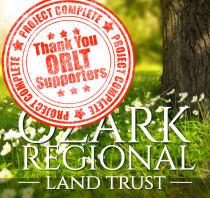 Ozark Regional Land Trust - CFO Match - COMPLETED