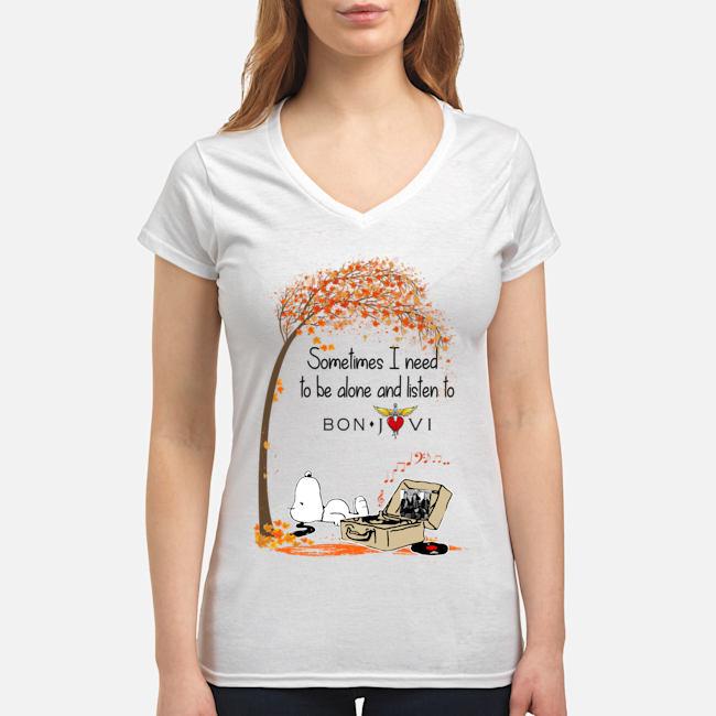 Women's V-Neck T-Shirt front
