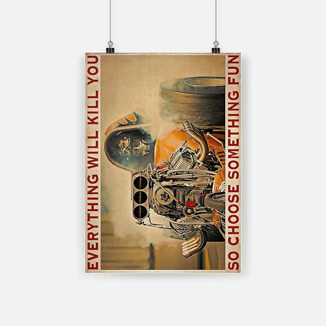 Portrait Poster A4 front
