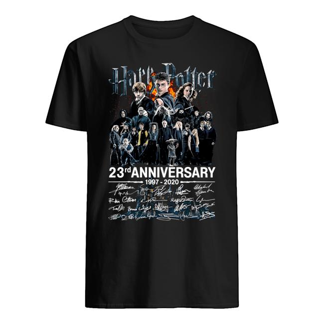Harry Potter 23rd Anniversary 1997 2020 Signatures Shirt