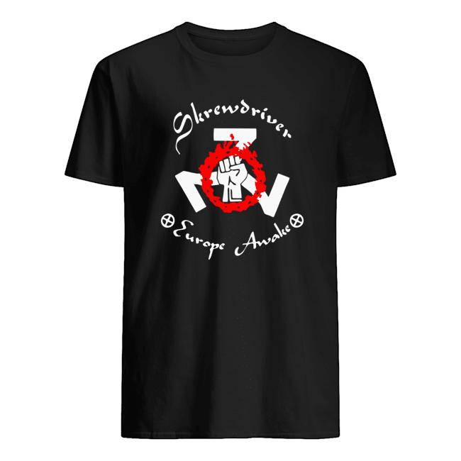 Shane Burley Skrewdriver Europe T-Shirts