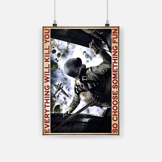 Portrait Poster A3 front