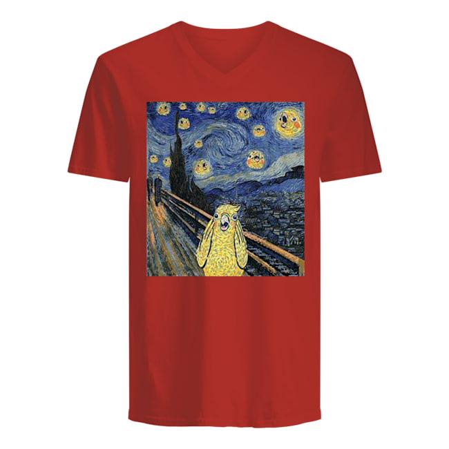 Men's V-Neck T-Shirt front