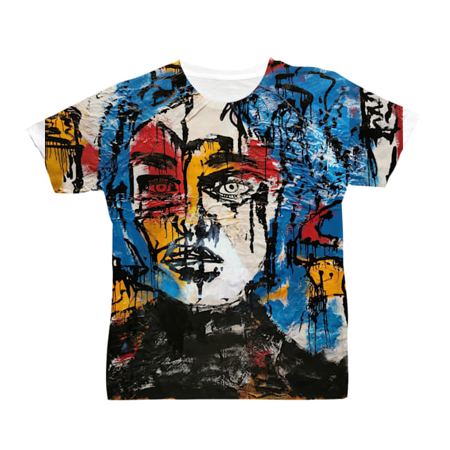 All Over Print Men's T-Shirt front