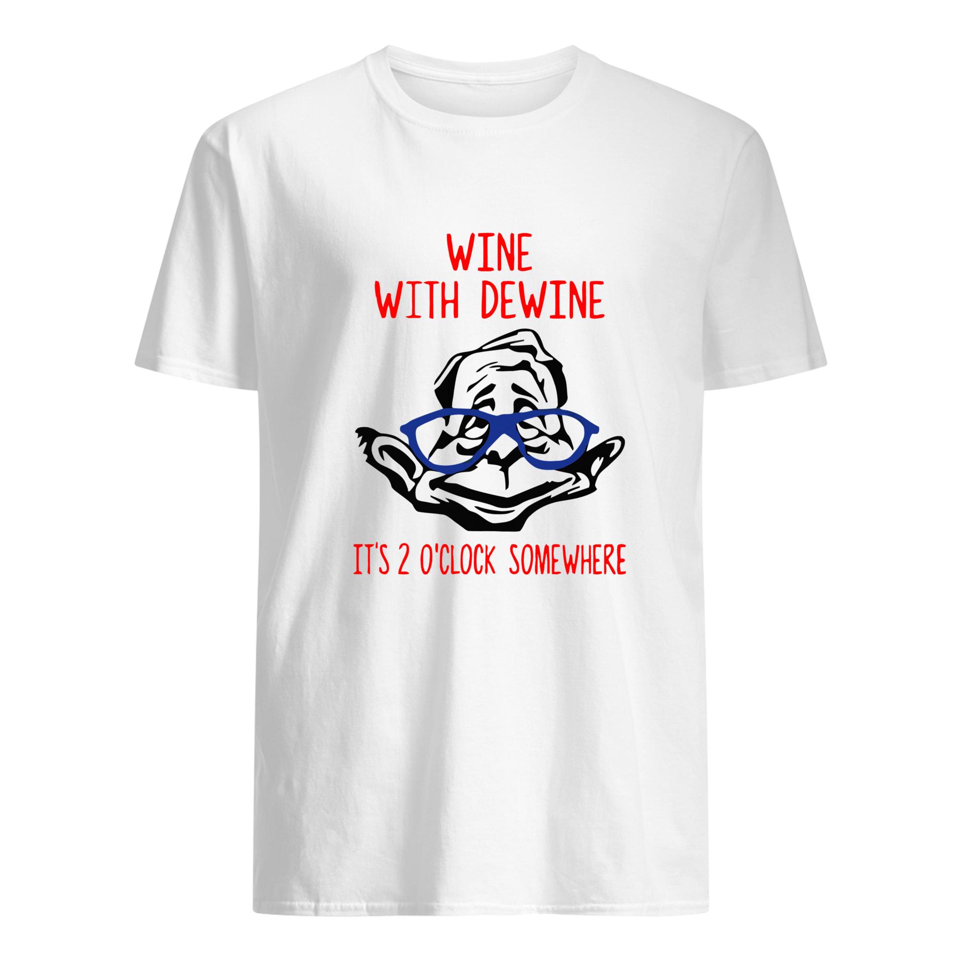 wine with dewine tee