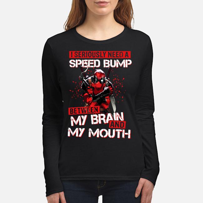 Women's Long Sleeved T-Shirt front