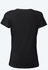 Women's T-shirt back