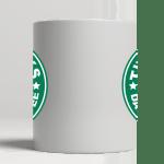 White Mug center