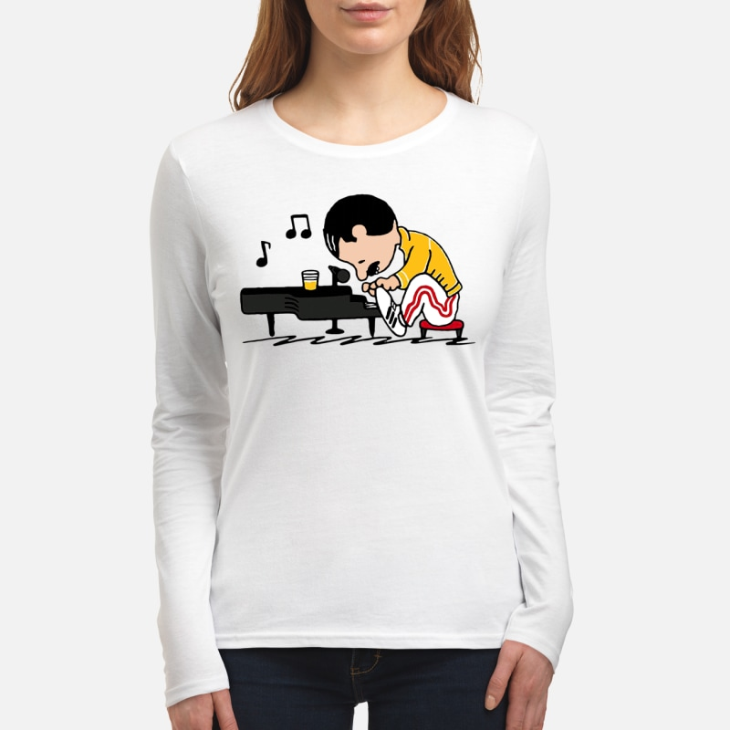 Women's Long Sleeved T-Shirt front