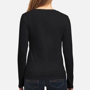 Women's Long Sleeved T-Shirt back
