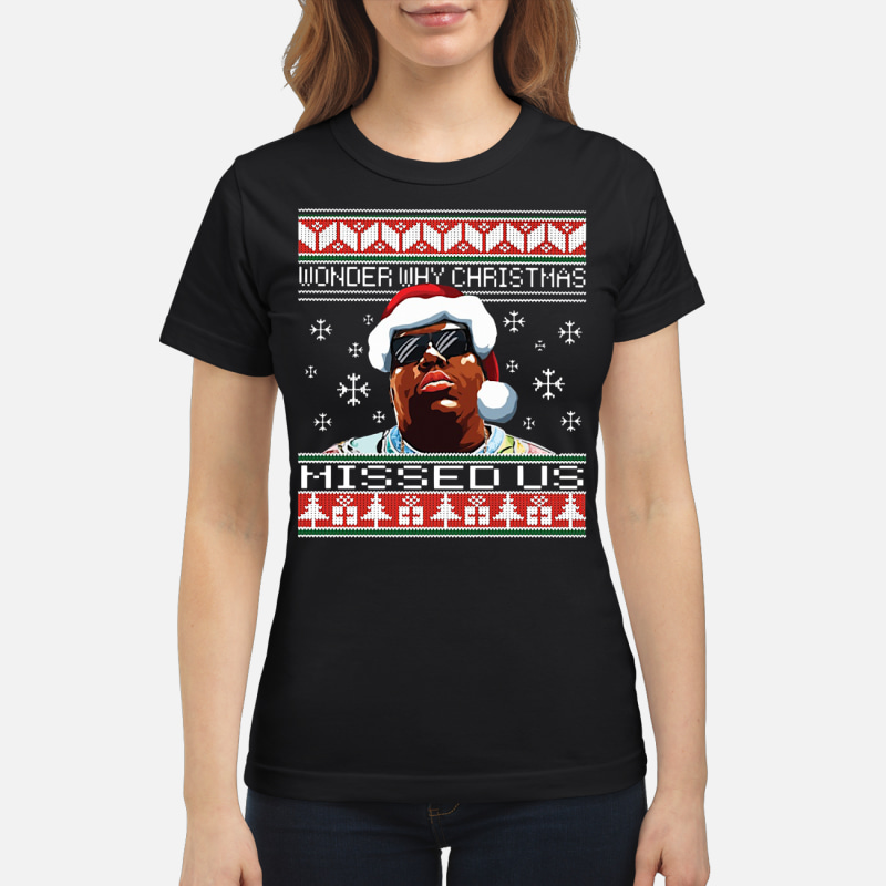 The Notorious Big Wonder Why Christmas Missed Us Sweater