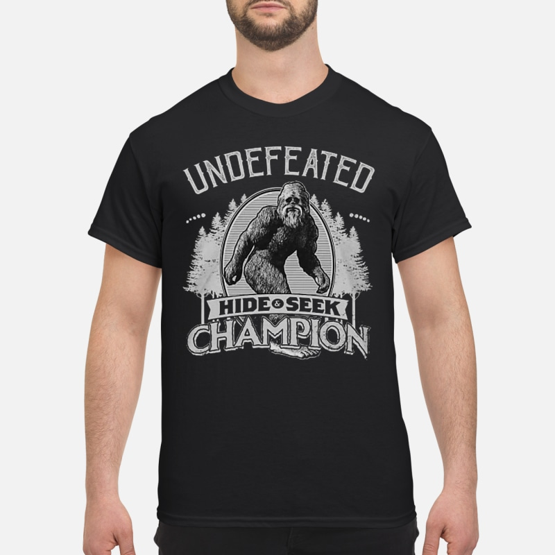 097ca4a5 Undefeated hide and seek Champion shirt