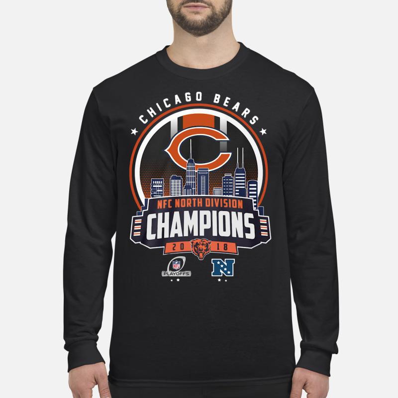 437531b44 Chicago Bears Nfc North Division Champions 2018 shirt – kingteesshop ...