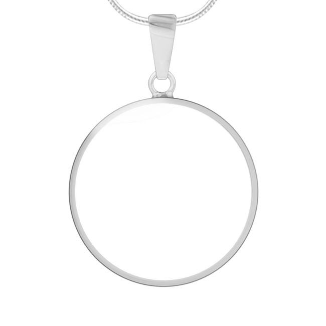 Sublimation Necklace front