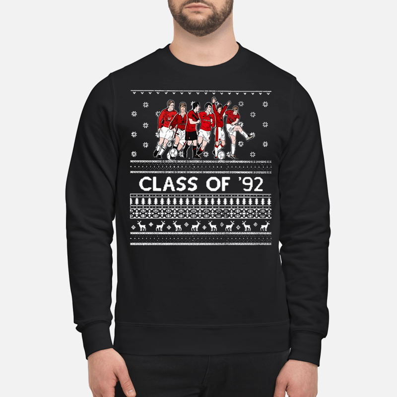 Christmas Manchester United Class Of 92 Sweater And Hoodie