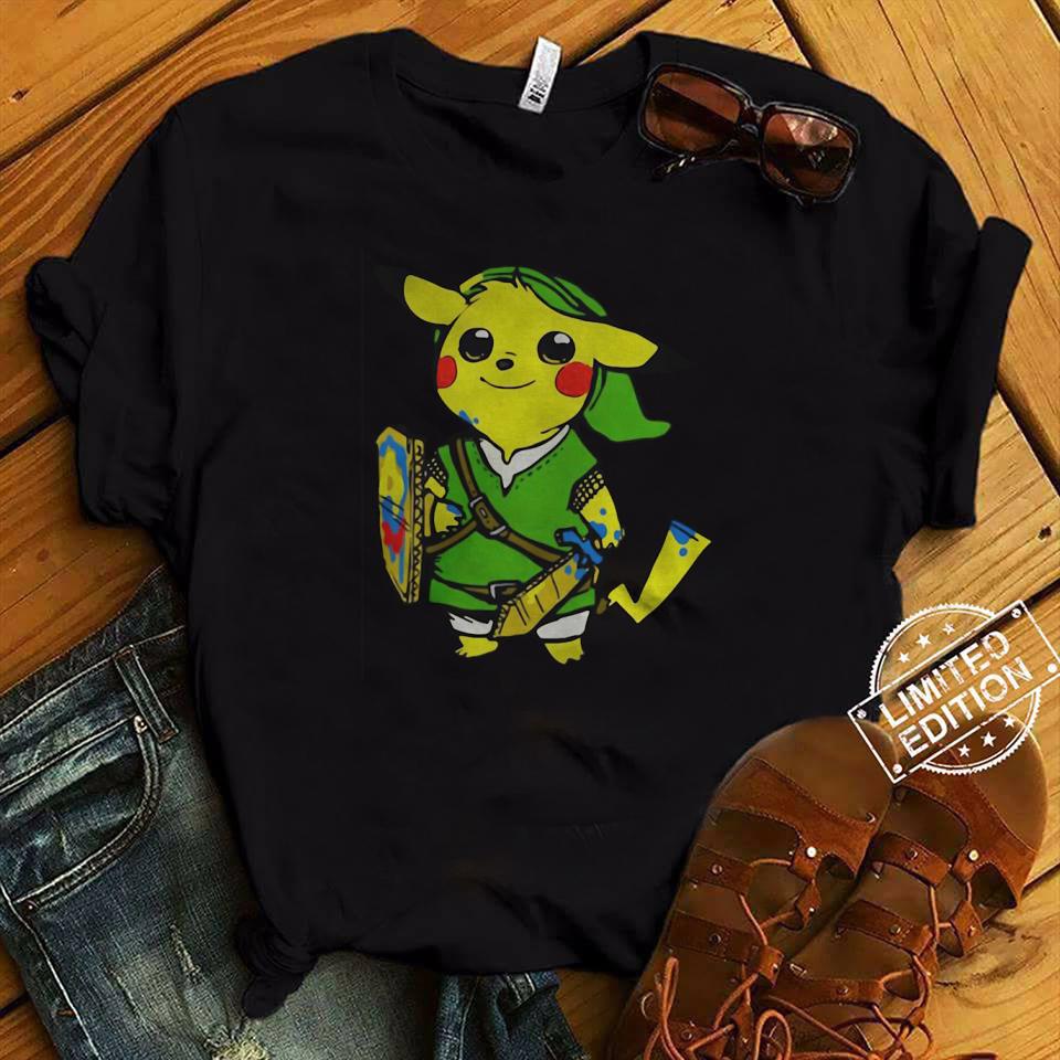 680746b0f Pikachu Link The Legend of Zelda shirt