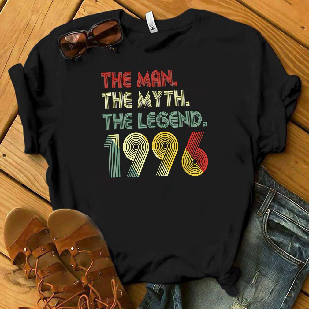 The Myth The Legend 1996 23rd Birthday Gifts 23 years old shirt