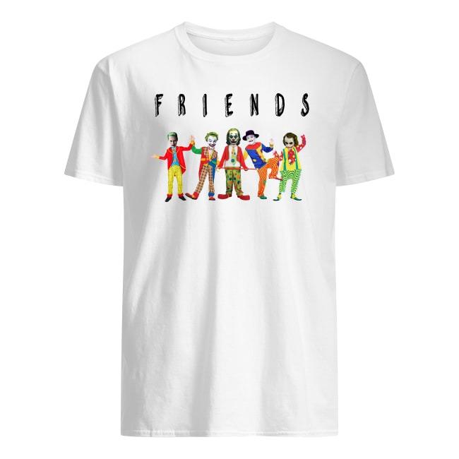 Friends Joker all characters shirt
