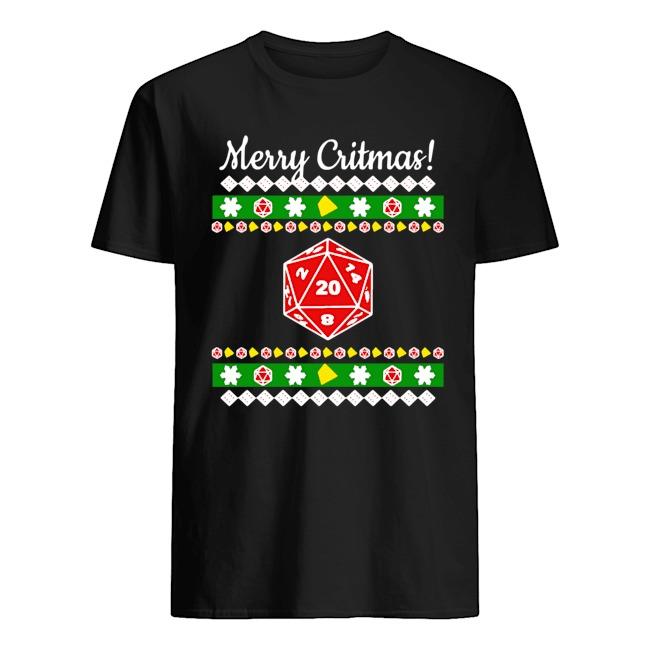 Merry Critmas Christmas Ugly Sweatshirt