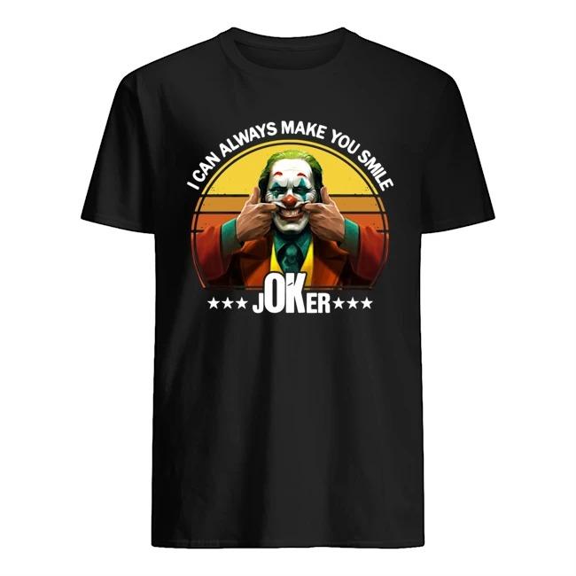 I can always make smile Joker sunset shirt