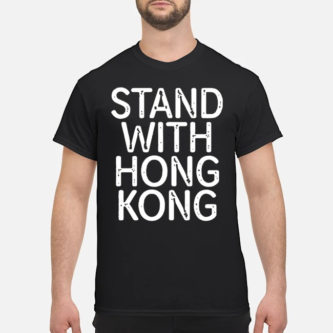 Lakers Fans Stand With Hong Kong Shirt