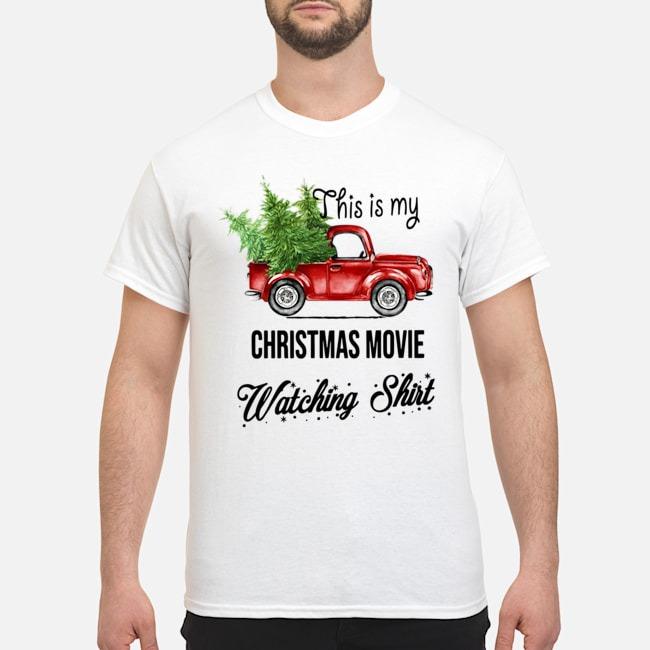 This Is My Christmas Movie Watching Shirt Sweatshirt