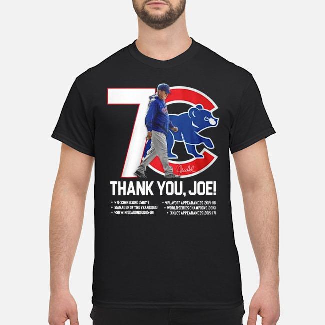 7 Chicago Cubs Thank You Joe Maddon Rumors Signature Shirt
