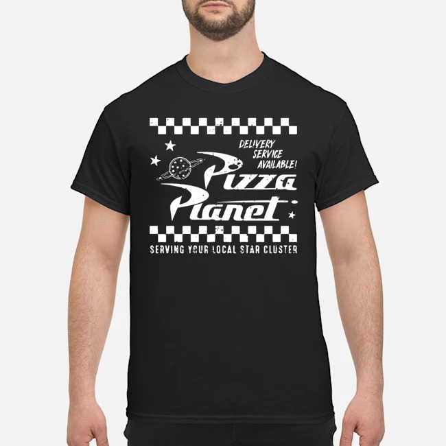 Delivery Service Available Pizza Planet Shirt
