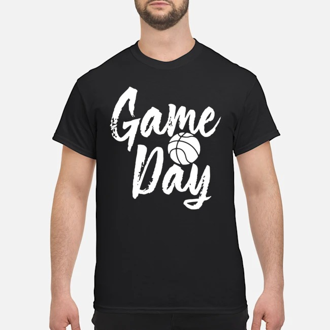 Game Day Happy Day Basketball Lovely Shirt