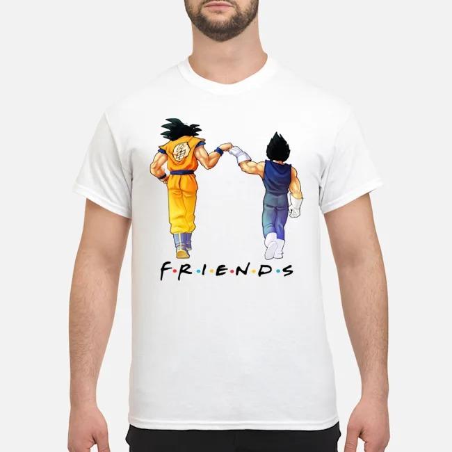 Son Goku and Vegeta Friends Shirt