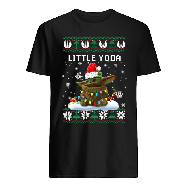 Little Yoda Ugly Christmas Sweatershirt