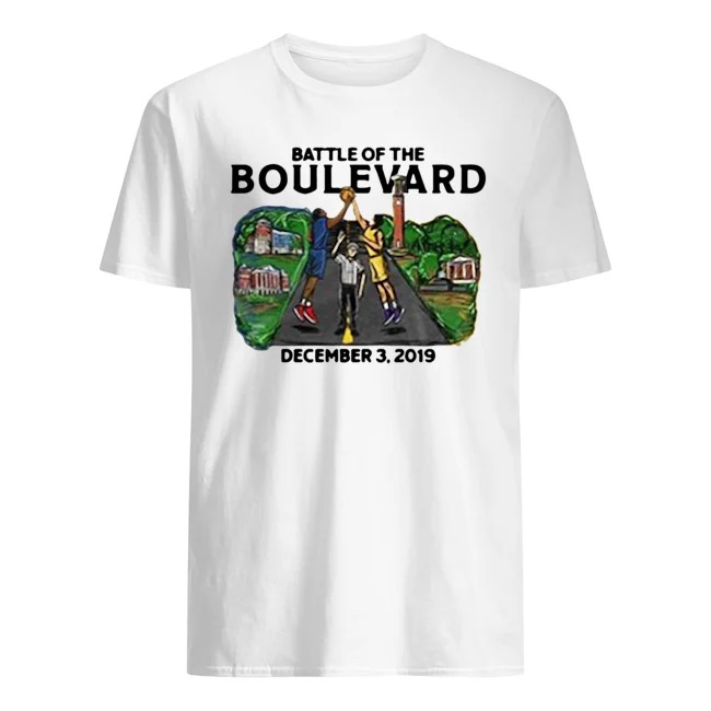 Battle of The Blvd Dicember 3,2019 Shirt