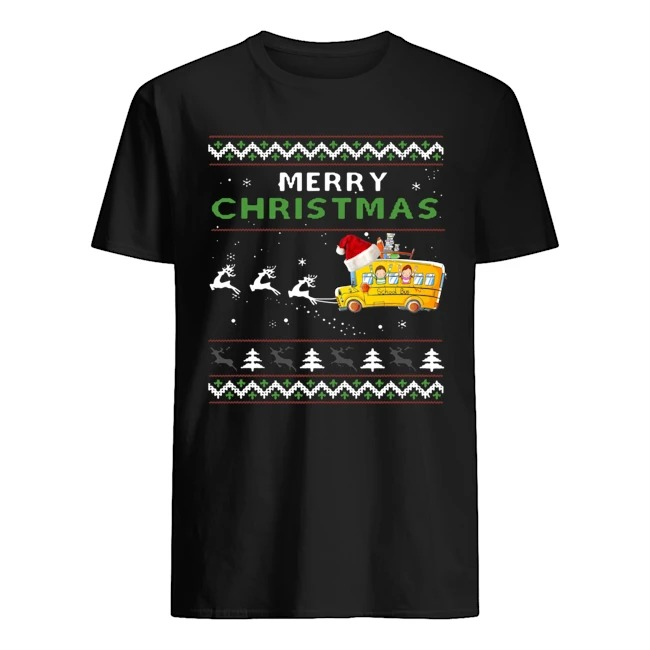 School Bus Driver Merry Christmas Ugly Sweater