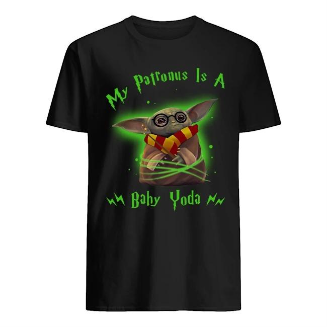 Harry Potter My Patronus Is A Baby Yoda Shirt