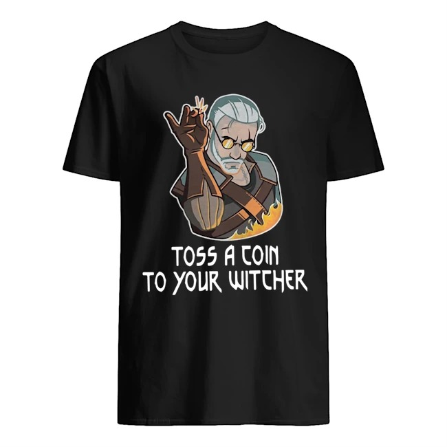 Official Toss A Join To Your Witcher Shirt