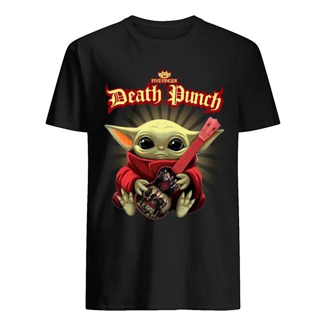 Baby Yoda Hug Five Finger Death Punch Shirt