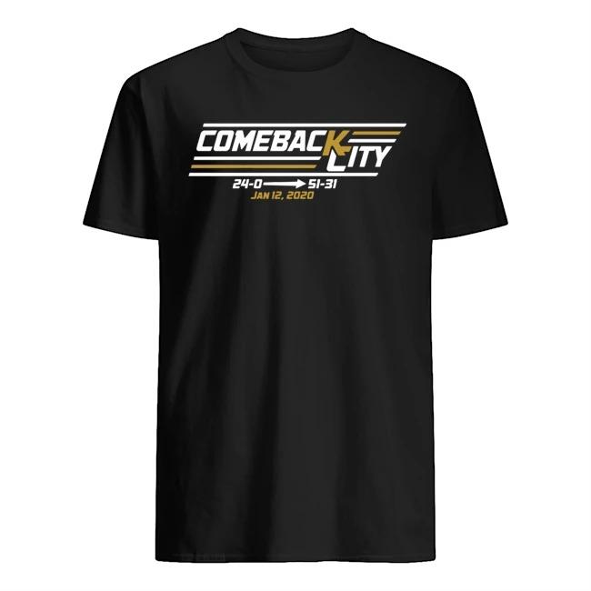Kansas City's Comeback Began Shirt